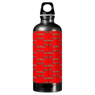 City of Akron Ohio Fire Department Water Bottle. SIGG Traveler 0.6L Water Bottle