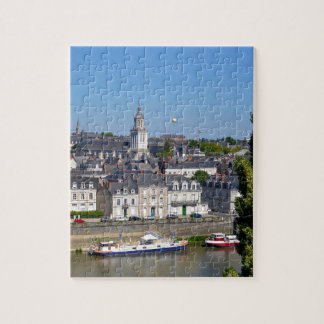 City of Angers in France Jigsaw Puzzle