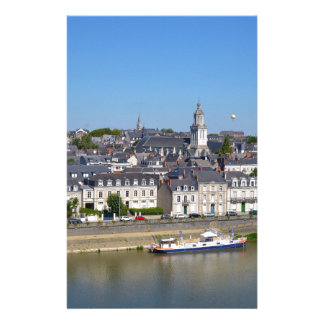 City of Angers in France Stationery