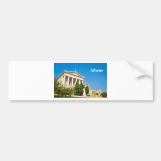 City of Athens, Greece Bumper Sticker