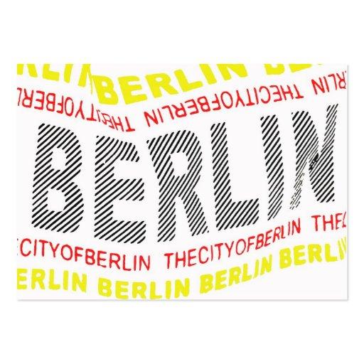 City of Berlin Logo/Memento (1) Business Card Templates