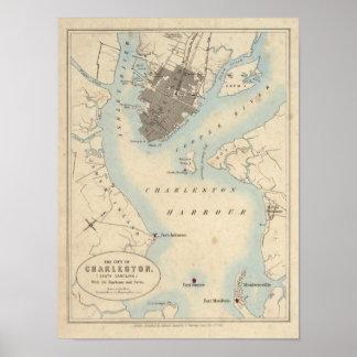 City of Charleston, South Carolina Poster