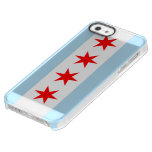 City of Chicago Flag Uncommon Permafrost® Deflector iPhone 5 Case