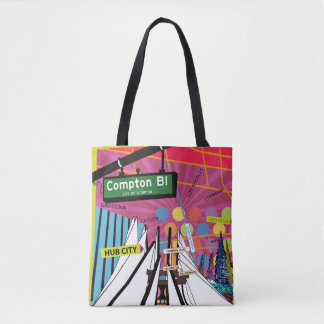 City Of Compton Cotton Tote bag