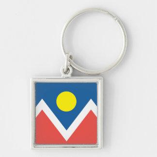 City of Denver flag Key Ring