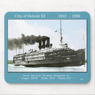 City of Detroit III mousepad