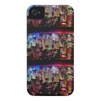 """City of dreams"" abstract iphone 4s case Case-Mate iPhone 4 Cases"