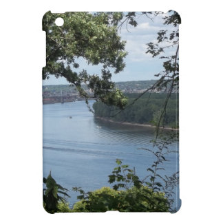 City of Dubuque, Iowa on the Mississippi River iPad Mini Cases