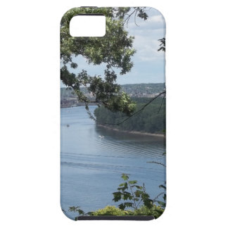 City of Dubuque, Iowa on the Mississippi River iPhone 5 Cases