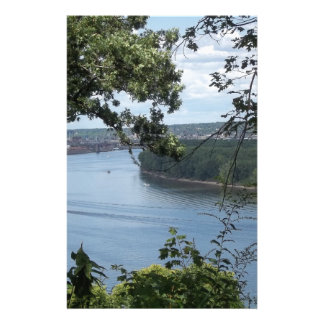 City of Dubuque, Iowa on the Mississippi River Stationery