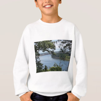 City of Dubuque, Iowa on the Mississippi River Sweatshirt