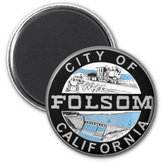 City of Folsom, California graphic logo Magnet