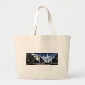 City of Geneva and its water jet Large Tote Bag