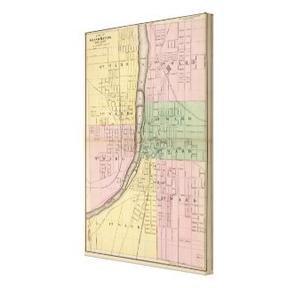 City of Grand Rapids, Kent County Canvas Prints