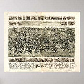 City of Hoboken, New Jersey (1904) Poster