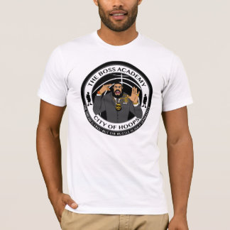 City Of Hoops: Dane's Boss Academy/Front And Back T-Shirt