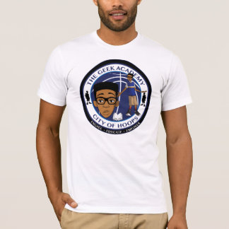 City Of Hoops: LJ's Geek Academy/ Front And Back T-Shirt