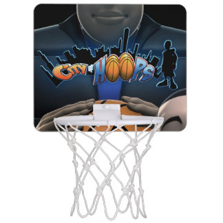 City Of Hoops: Mini Basketball Hoop