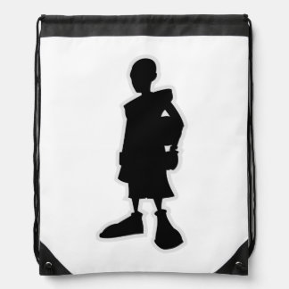 City Of Hoops: Shoe Drawstring Bag