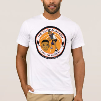 City Of Hoops: T's Hoop Academy/ Front And Back T-Shirt