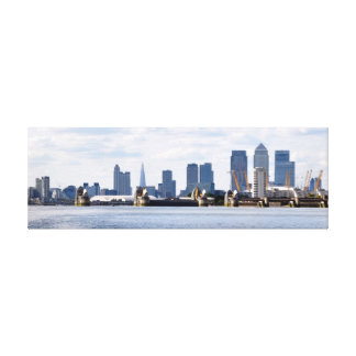 City of London Skyline Canvas Print
