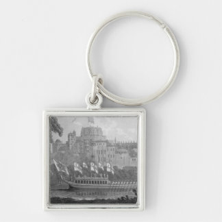 City of London State Barge Key Chain