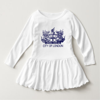 City of London, Vintage, Coat of Arms, England UK Dress