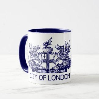 City of London, Vintage, Coat of Arms, England UK Mug