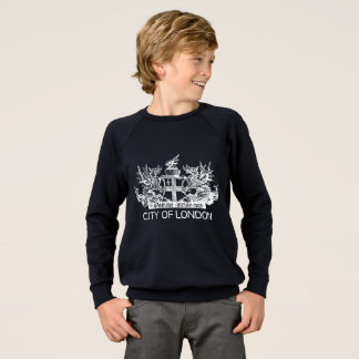 City of London, Vintage, Coat of Arms, England UK Sweatshirt