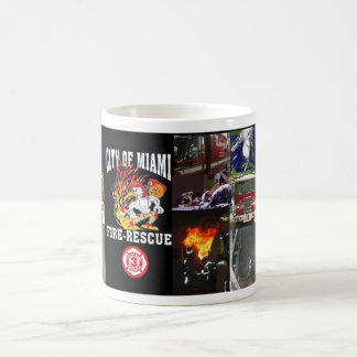 City Of Miami Fire Rescue Coffee Mug