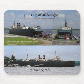 City of Milwaukee 3 picture mousepad