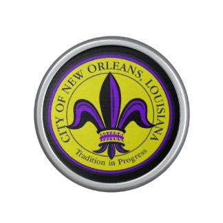 City of New Orleans, LA Fleur de Lis Speaker