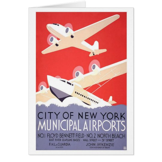 City Of New York Airports Card