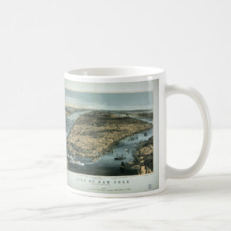 City of New York in 1856 by Charles Parsons Coffee Mug