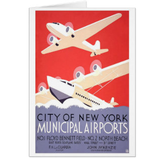 City of New York Municipal Airports Card