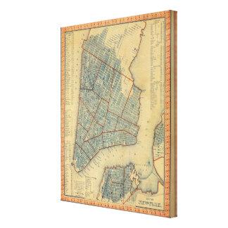 City of NewYork Canvas Print