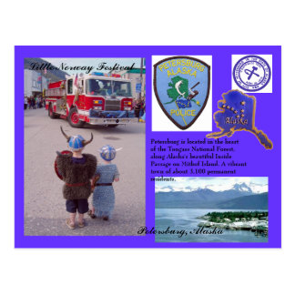 City of Petersburg, Alaska Postcard
