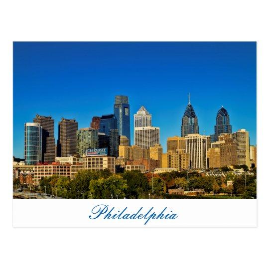 City of Philadelphia Postcard