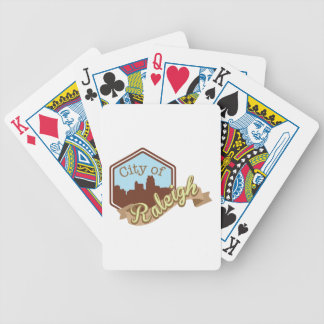 City Of Raleigh Bicycle Playing Cards