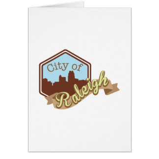 City Of Raleigh Card