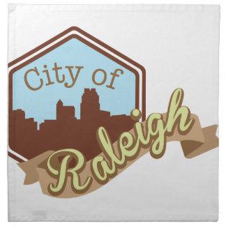 City Of Raleigh Napkin