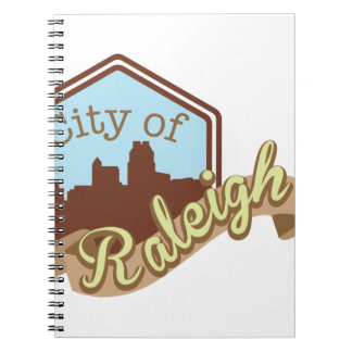 City Of Raleigh Notebooks
