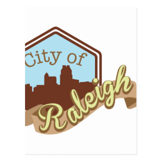 City Of Raleigh Postcard