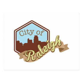 City Of Raleigh Postcard