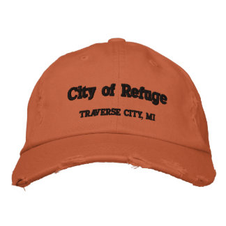 CIty of Refuge Traverse City, MI Embroidered Hat