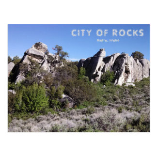 City of Rocks National Preserve Post Card