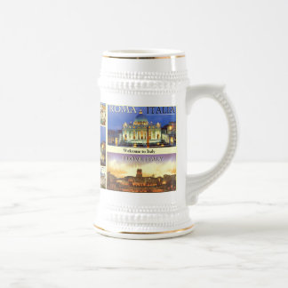 CITY OF ROMANCE ITALIA 33, ROME6A, CITY OF ROMA... BEER STEIN