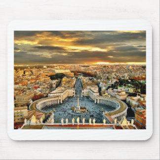 City of Rome Mouse Pads