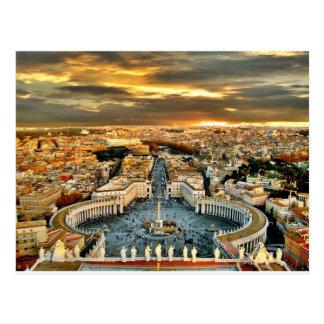 City of Rome Postcard