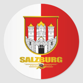 City of Salzburg Round Sticker